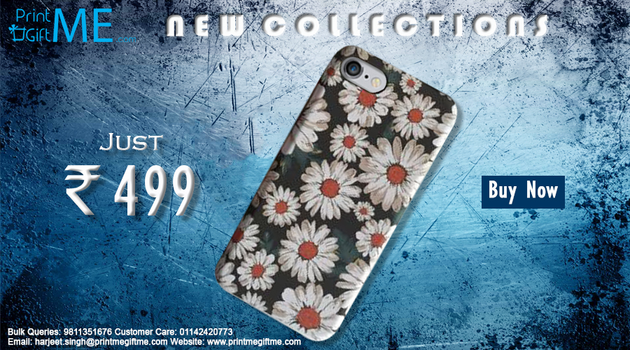 Iphone White Flower Mobile Case